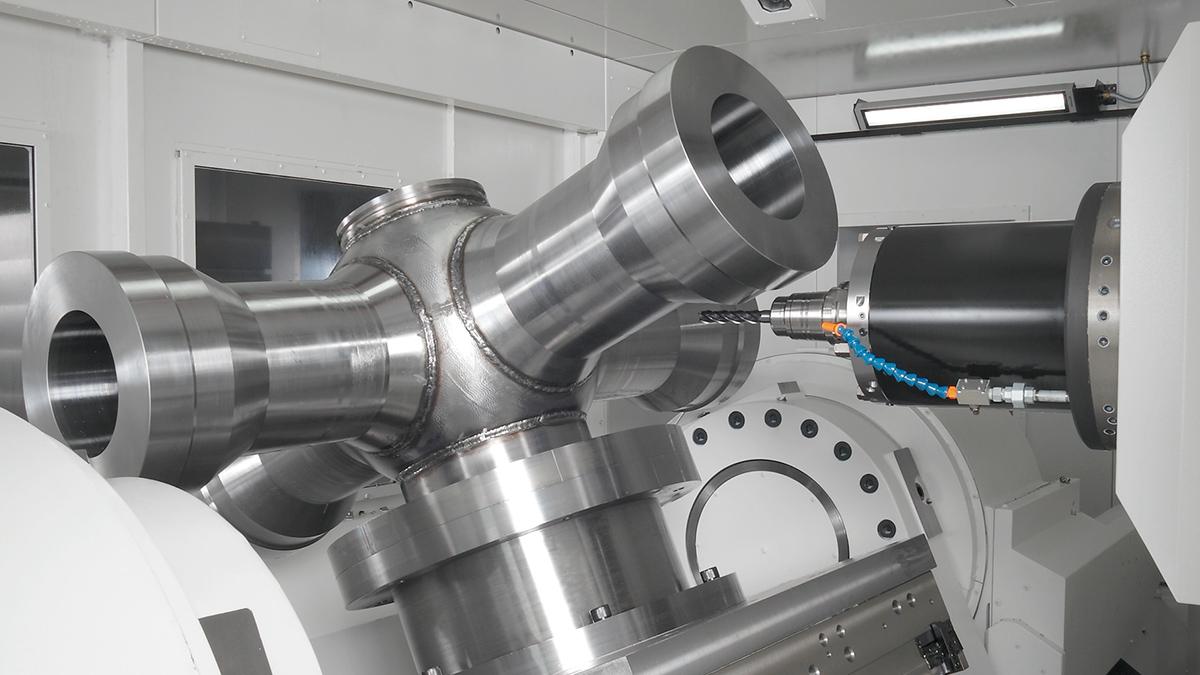 5轴控制卧式加工中心 UNIVERSAL CENTER MU-10000H