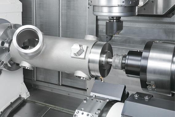 難削材の高能率加工も可能な高い加工能力