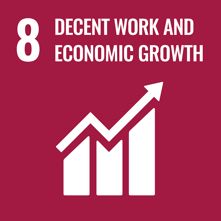 8: DECENT WORK AND ECONOMIC GROWTH