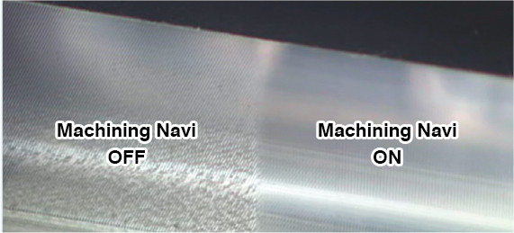 Machining Navi ON / OFF