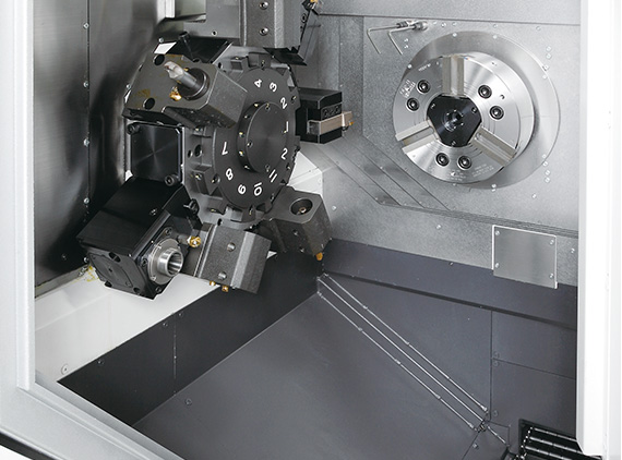 Productivity improved with significantly stronger spindle