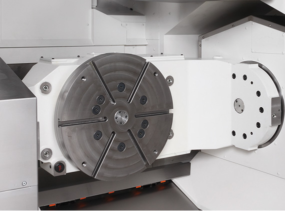 Highly rigid trunnion table supports high-accuracy 5-axis machining