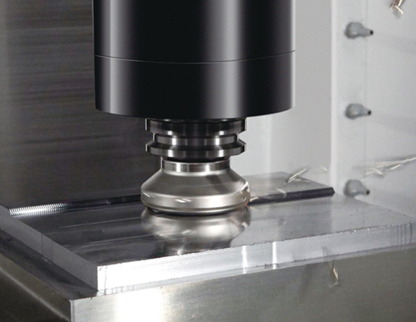 Highly efficient machining of die/mold and semiconductor manufacturing equipment parts