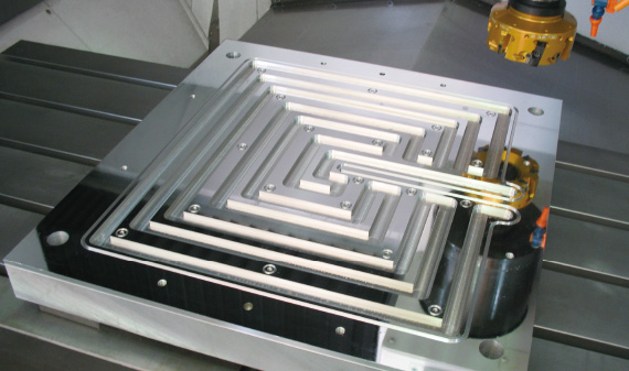 Parts machined with higher quality