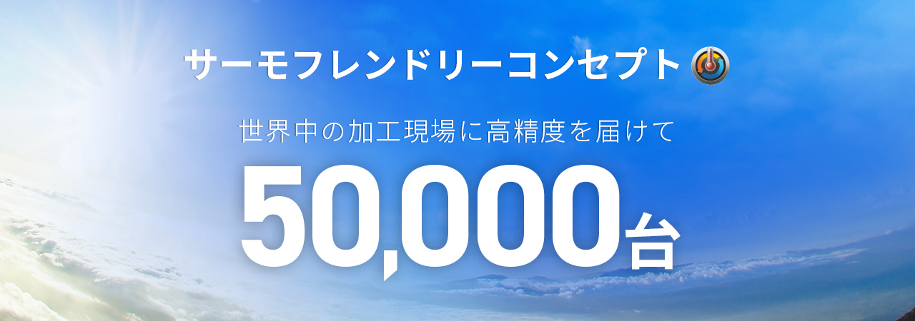Thermo-Friendly Concept 50,000 units commemorative page