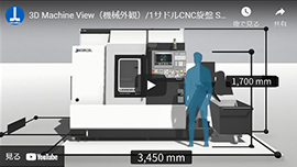 3D Machine View(機械外観)