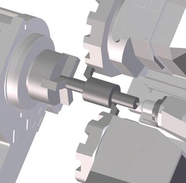高い加工能力と広い加工領域をコンパクトな機械に凝縮