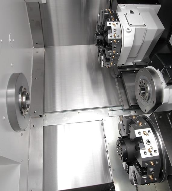 Y軸機能で工程集約 複雑形状ワークもワンチャック加工